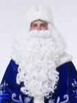 Борода Деда Мороза Элит + мешочек для хранения в подарок!