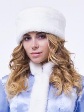 Голубая шапка снегурочки