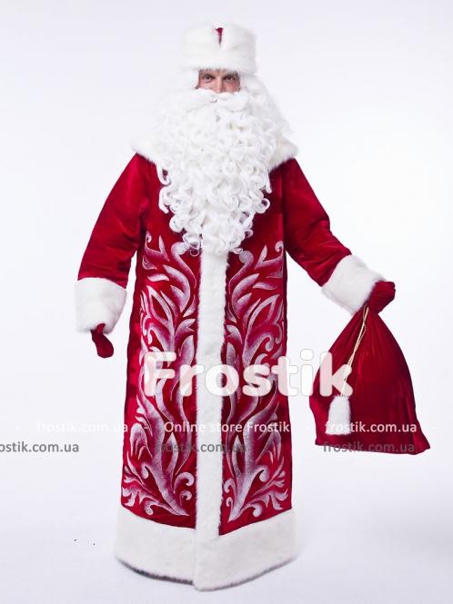Прокат красного костюма Деда Мороза Барский