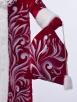 Красный королевский костюм Деда Мороза