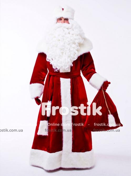 Костюм Деда Мороза Великий красный