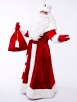 Костюм Деда Мороза Великий красный (прокат)