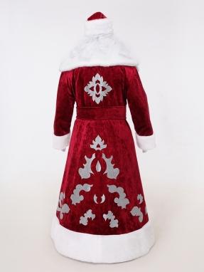 Красный костюм Деда Мороза Кристал фото 2