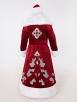 Красный костюм Деда Мороза Кристал