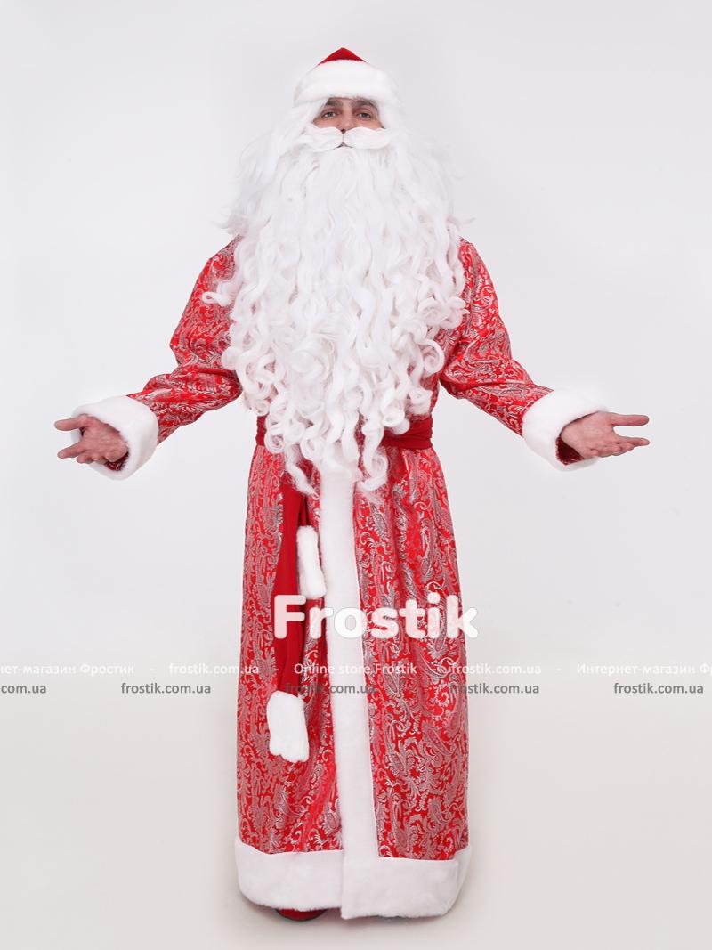 новогодние подарки - костюм деда мороза