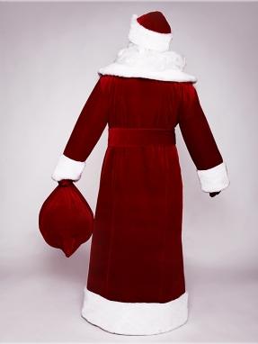 Прокат красного костюма Деда Мороза фото 2