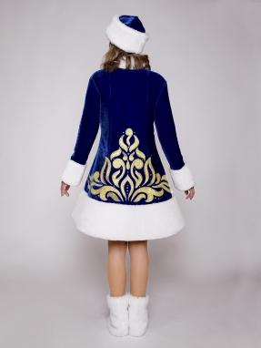 Золото костюм снегурочки Вьюга фото 2