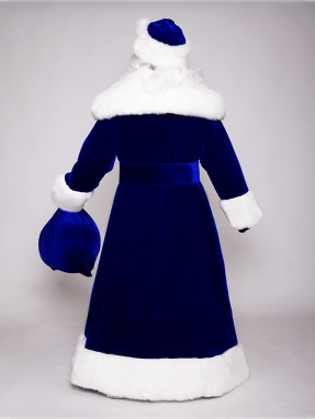 Костюм Деда Мороза Великий синий