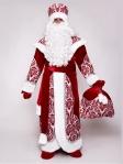 Узорный костюм Деда Мороза