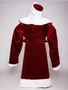 Костюм Деда Мороза Каракуль с рукавами фото 2