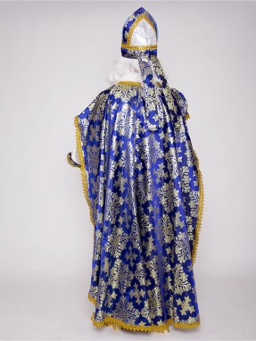 Митра (шапка) Святого Николая синяя