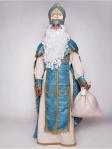 Костюм Святого Николая классический голубой