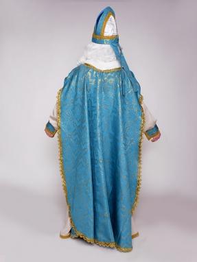 Прокат голубого костюма Святого Николая фото 2