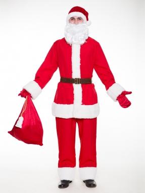 Костюм Санта Клауса эконом
