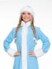 Прокат голубого костюма снегурочки Эконом