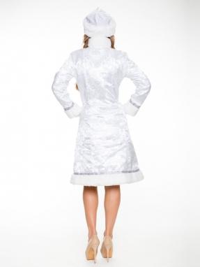 Белоснежный костюм Снегурочки