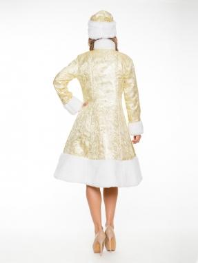 Прокат золотого костюма снегурочки фото 2