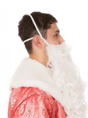 Борода Деда Мороза Элит фото 2