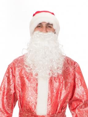Мини борода Деда Мороза фото 2