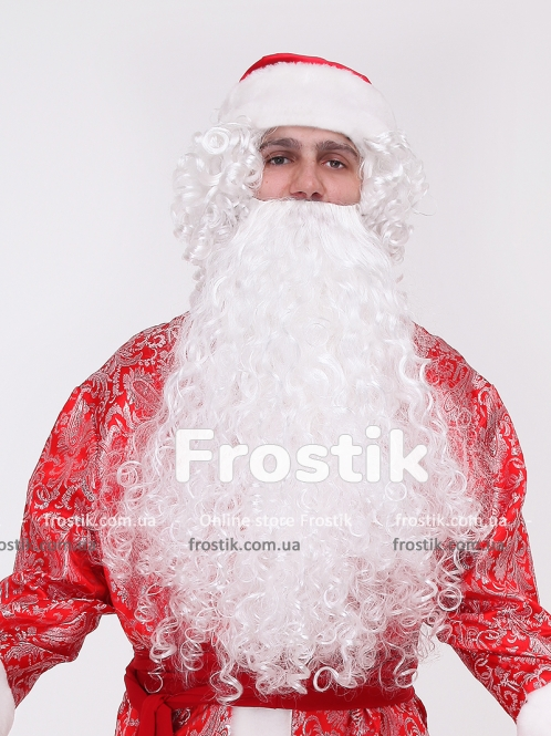 Борода Деда Мороза Кристальная
