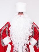 Борода и парик Деда Мороза Профи (комплект)