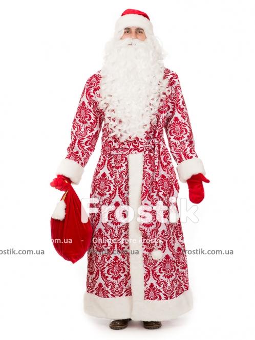 Костюм Деда Мороза Рубиновый