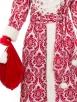 Рубиновый костюм Деда Мороза