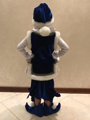 Синий костюм Гнома на мальчика фото 2
