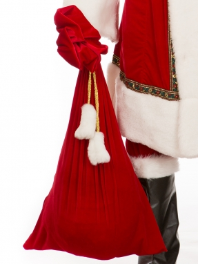 Мешок для подарков с хвостом 50*88