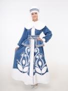Боярский костюм Снегурочки (муфта в подарок)