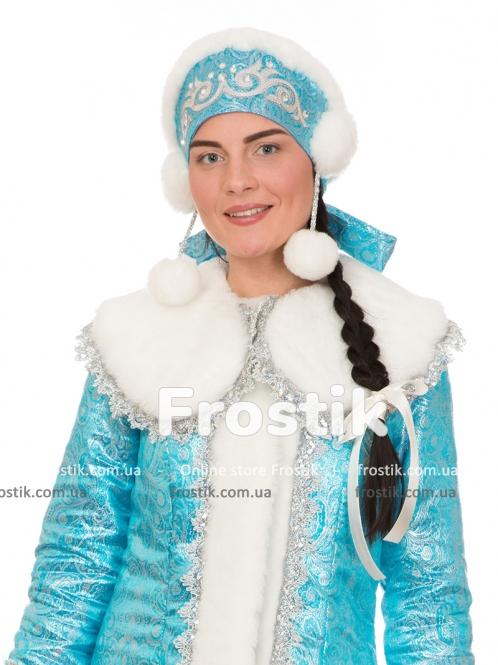 Кокошник для снегурочки Королева Зимы