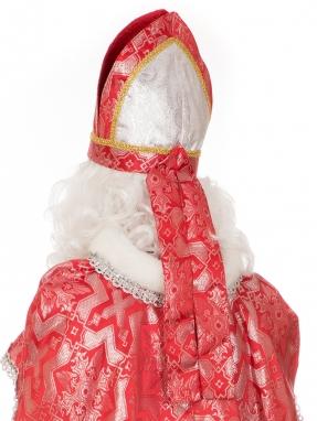 Красная митра (шапка) Святого Николая фото 2