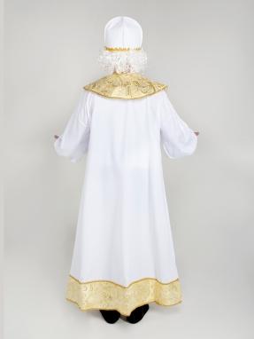 Золотой костюм Святого Николая с шапкой эконом фото 2