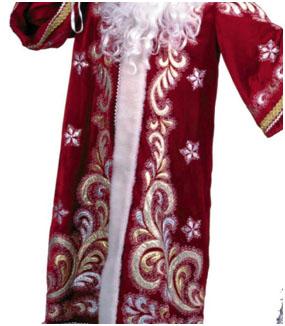 Чем украсить костюм деда мороза своими руками фото